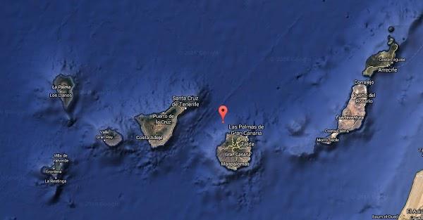 Terremoto noroeste Gran Canaria 22 noviembre