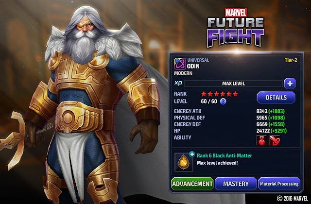 Odin Marvel Future Fight
