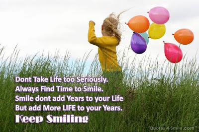 Quotes on keep smiling always