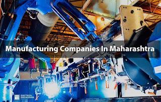 Manufacturing Companies In Maharashtra