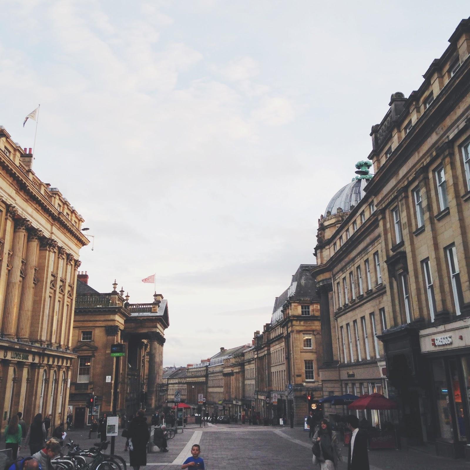 newcastle grey street