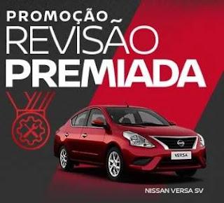 Cadastrar Nova Promoção Nissan Revisão Premiada 2019 Concorra Versa 0KM