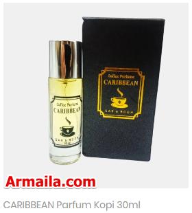 CARIBBEAN Parfum Kopi  ARMAILA DROPSHIPPER