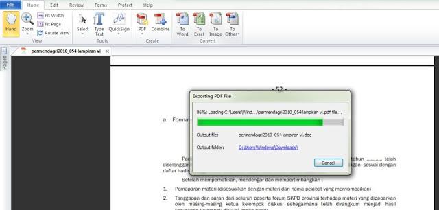 Cara Convert PDF Ke Word Secara Ofline dengan Nitro Pro