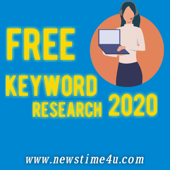 Free Keyword research 2020