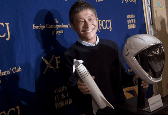 """ملياردير ياباني يبحث عن """"امرأة عازبة"""" تشاركه في رحلة إلى القمر"""