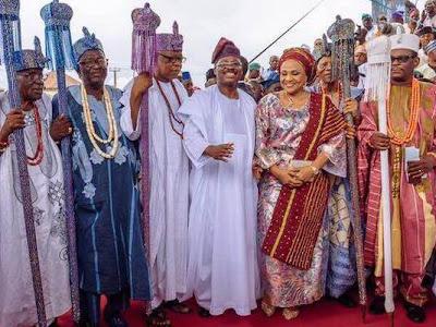 JUST IN! 21 Ajimobi kings to drop crowns in Ibadan. PHOTOS