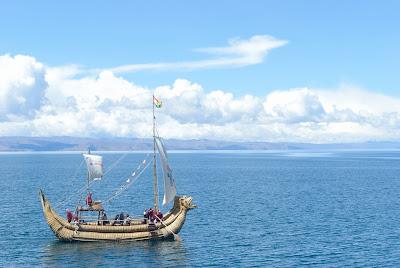 Lado Boliviano del Lago Titicaca