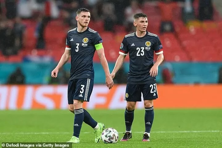 Billy Gilmour has 'a huge future' for Scotland, claims captain Andy Robertson