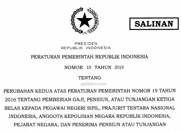 pp 18 tahun 2018