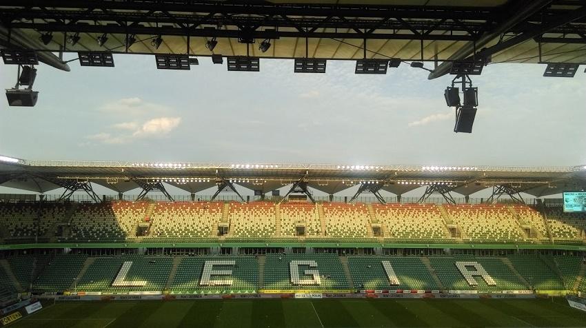 Stadion Legii Warszawa - fot. Tomasz Janus / sportnaukowo.pl