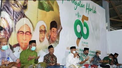 PCNU Pohuwato dan PP Salafiyah Syafi'iyah Gelar Peringatan Harla NU Ke-95