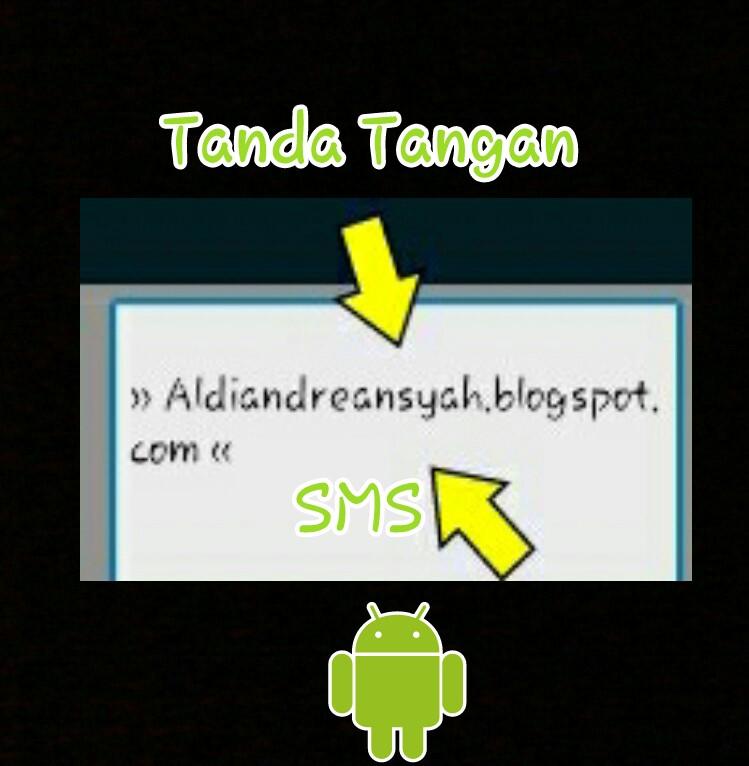 tanda tangan android