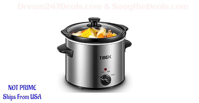 20% OFF Slow Cooker 4 Quart Crock-pot and Slow Cookers