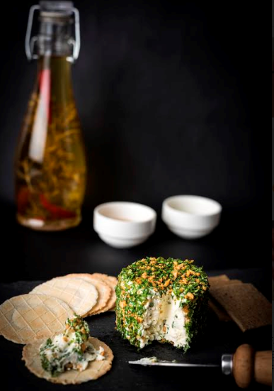 Roasted Garlic & Parsley Cream Cheese@Foodhall