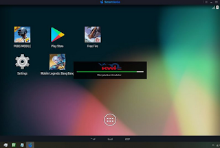 launcher emulator SmartGaGa Portable untuk main game mobile di PC
