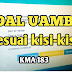 Soal UAMBK Mapel Fikih dan Ushul Fikih Madrasah Aliyah 2021
