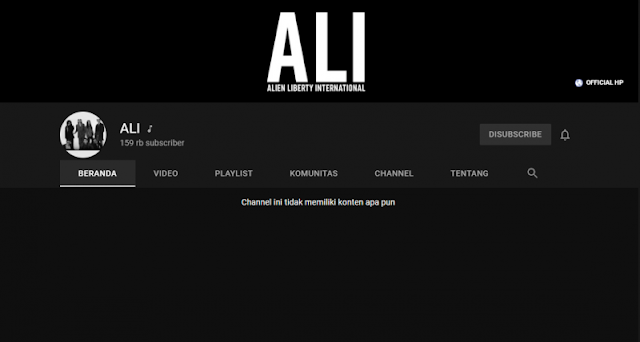 YouTube Band ALI
