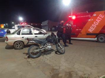 Acidente na Marechal Rondon com a JK deixa um ferido em Jaru, RO
