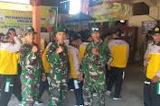 Personil Koramil 1302-14/Amurang Jadi Instruktur Kirab Taruna CEP