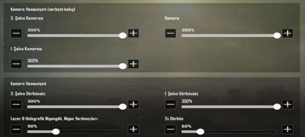 Sensitivity settings for Mezarcı PUBG Mobile Tablets 2020!