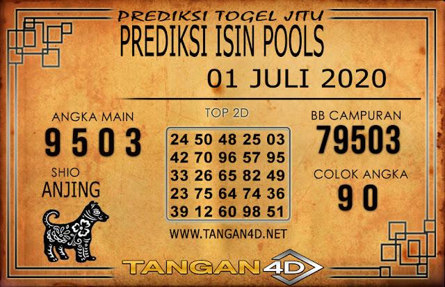 PREDIKSI TOGEL ISIN TANGAN4D 01 JULI 2020