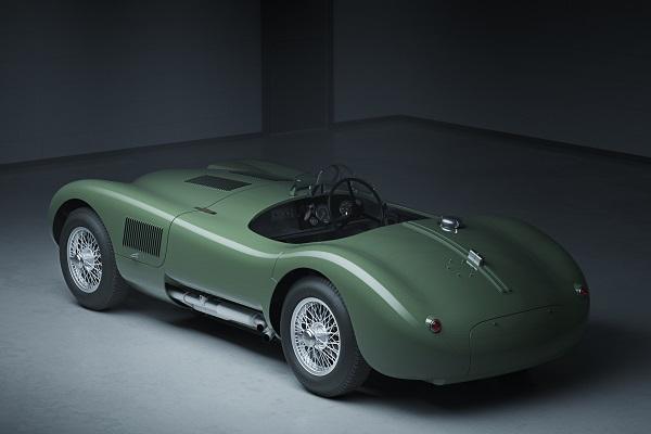 réplica oficial del Jaguar C-Type