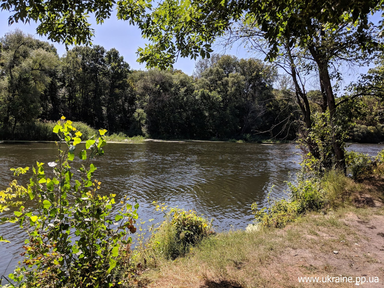 Река Северский Донец в Харьковской области