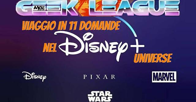 Il mio debutto nella Geek League con 11 domande sull'universo Disney