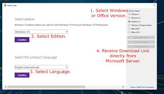 تحميل ويندوز 7,8.1,10 رسميا Microsoft Windows ISO Download Tool 3.1.5