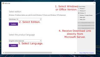 تحميل ويندوز 7,8.1,10 رسميا Microsoft Windows ISO Download Tool 3.1.5