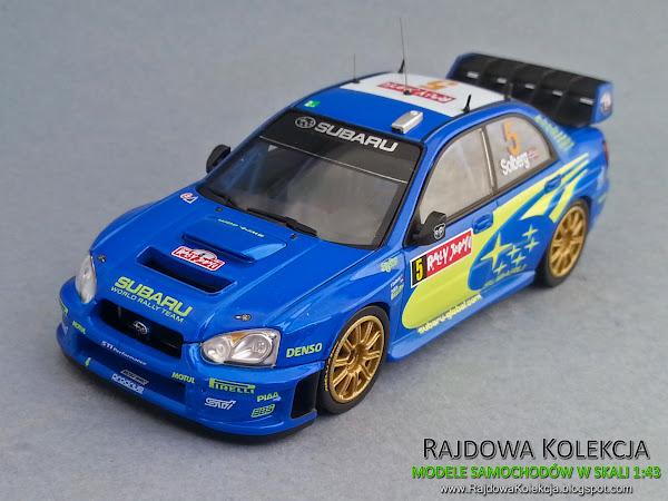 HPI Racing Subaru Impreza WRC 2005  Rally Japan