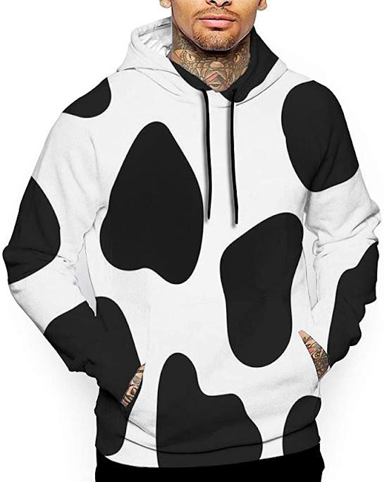 sudadera - estampado - vaca - vacaslecheras.net
