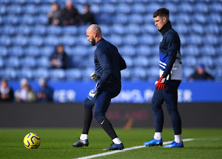 Chelsea Second Choice Caballero on Kepa: 'Of course I hope he stays'