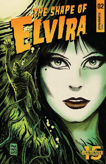 Cover A for The Shape of Elvira #2 from Dynamite Entertainment