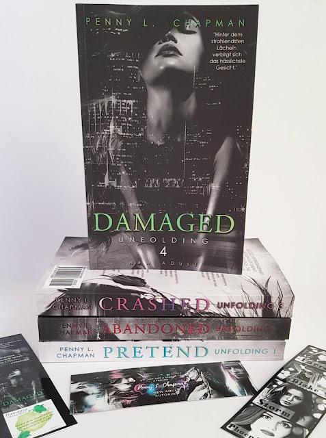 Damaged (Unfolding 4) - Penny L. Chapman