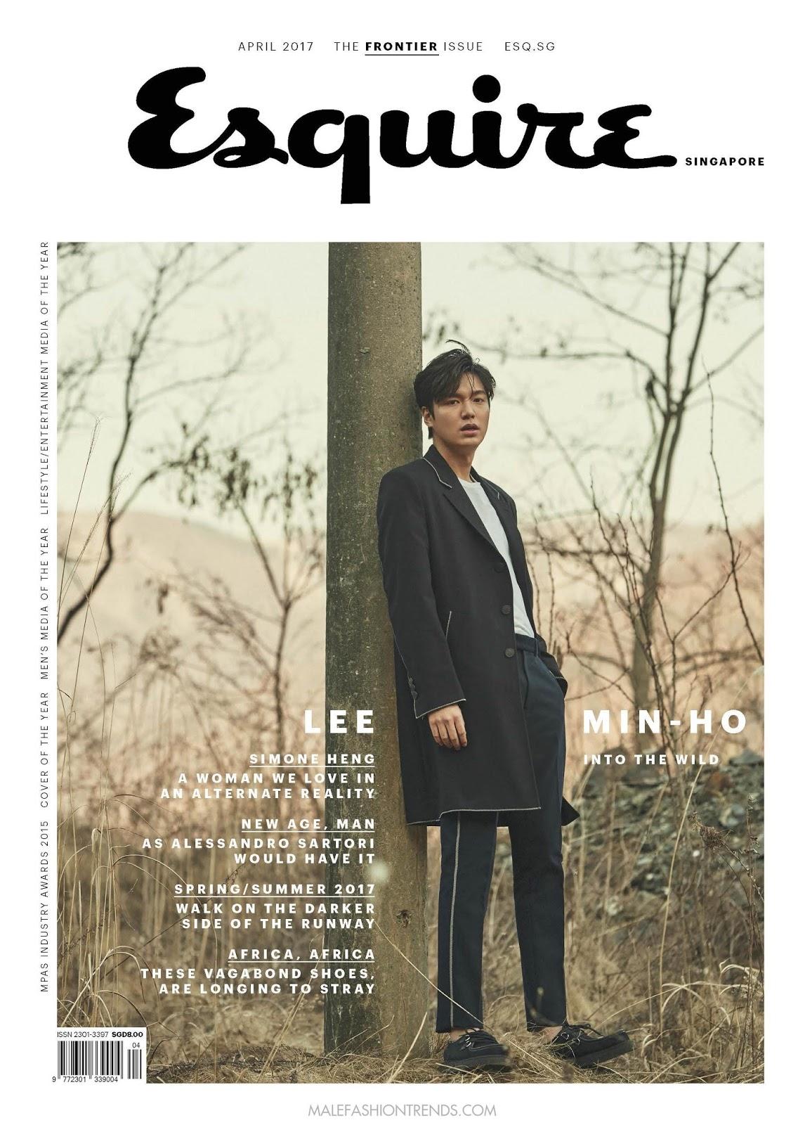Lee Min Ho para Esquire Singapur por Choi Yong Bin