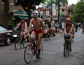 World Naked Bike Ride 2016 Buffalo upstate New York