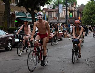 World Naked Bike Ride 2016 Buffalo upstate New York