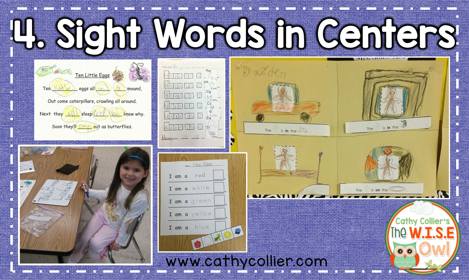 4 Sight Word Ideas For Emergent Readers