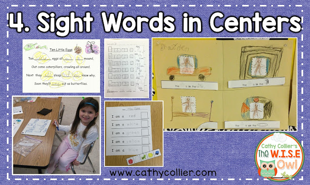 Word wall words, sight words, whatever you call them...emergent readers and writers need them. Here are 4 activities (personal word walls, word wall phrases, word wall games, and word wall activities in centers/literacy work stations) to help make these words automatic for your students.