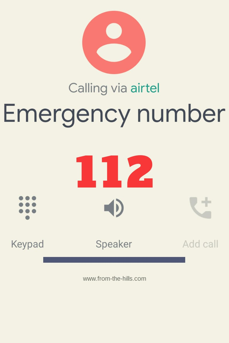 Now Call 112 for Emergency in India - From the Hills