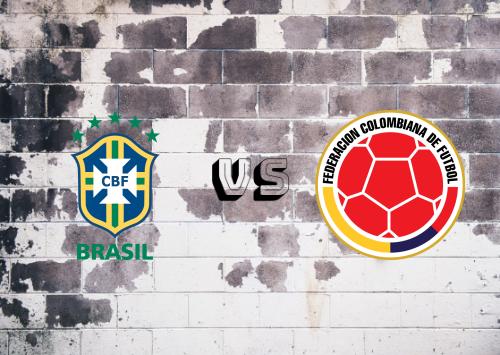 Brasil vs Colombia  Resumen y Partido Completo