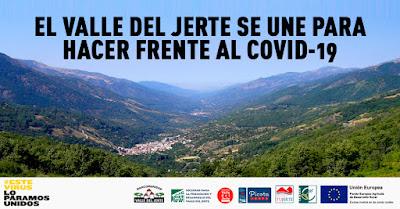 EL VALLE DEL JERTE SE UNE PARA HACER FRENTE AL COVID-19