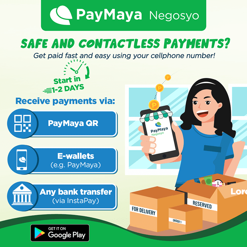 "Paymaya unveils ""Negosyo App"" for small businesses and entrepreneurs"