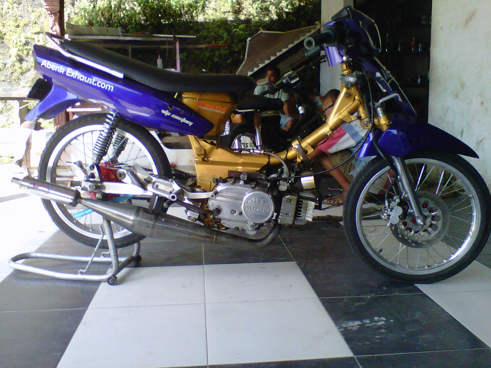 Modif Motor Suzuki Jet Kolet Wacana Modif Motor