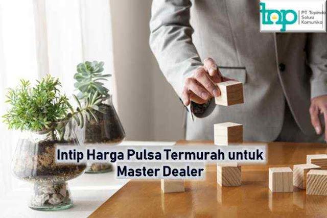 Intip Harga Pulsa Termurah Topindopay untuk Master Dealer