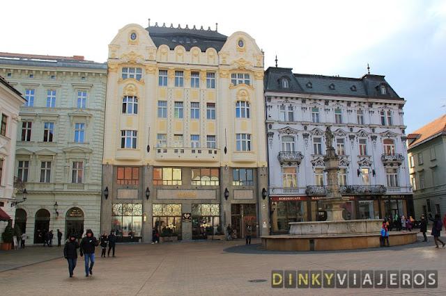 Plaza Hlavne Namestie