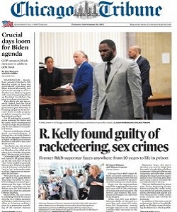 Chicago Tribune Magazine 28 September 2021
