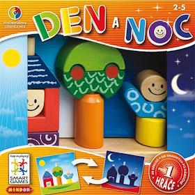 Recenze hry Den a noc na blogu www.spoluhratky.eu